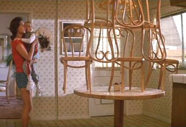 Image result for Chairs stacked Poltergeist