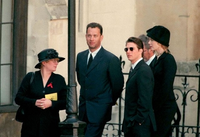 NATIONAL FUNERAL FOR PRINCESS DIANA IN LONDON